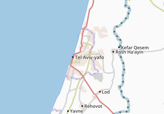 Map Of Ramat Gan Michelin Ramat Gan Map ViaMichelin - Ramat gan map