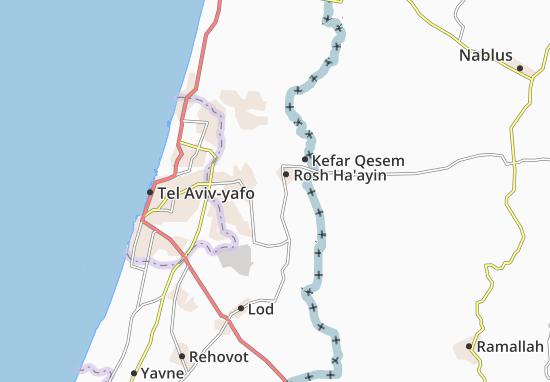 Kaart Plattegrond 'Enat
