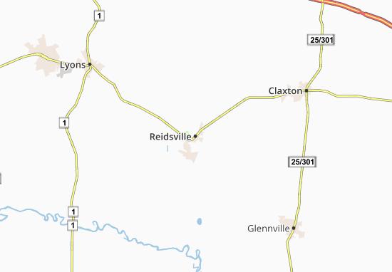 Reidsville Map