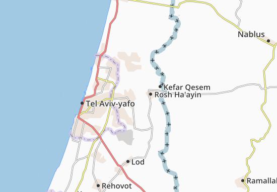 Giv'At Hashelosha Map