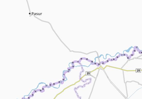 Narowal Map