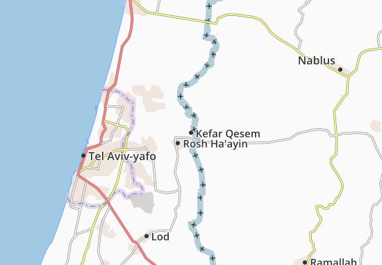 Kefar Qesem Map
