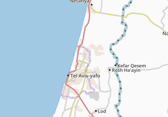 Ramat Hasharon Map