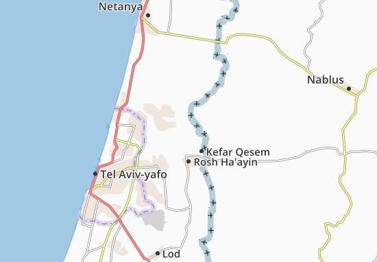 Jaljulya Map