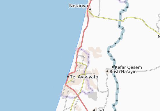 Herzliyya Map
