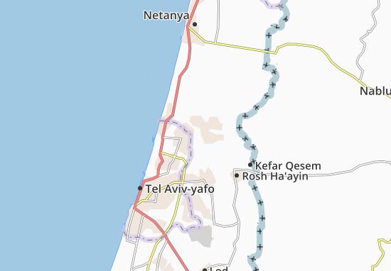 Giv'At Hen Map