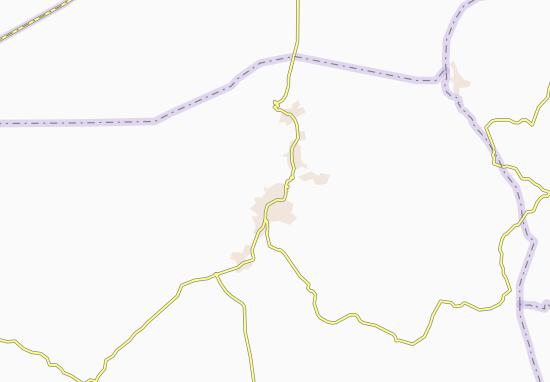 Carte-Plan Gharyan