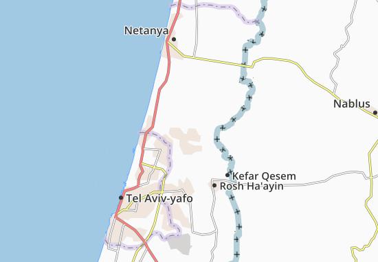 Kaart Plattegrond Gan Hayyim