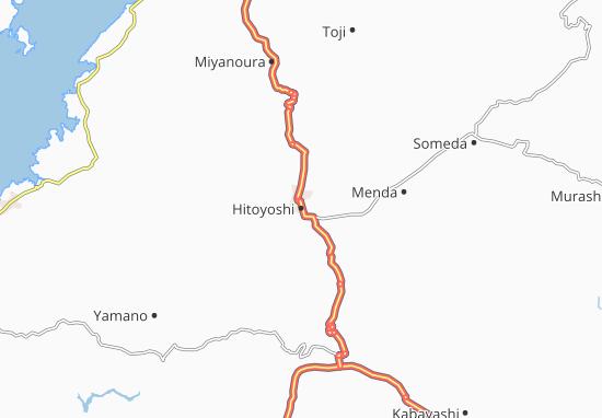 Hitoyoshi Map