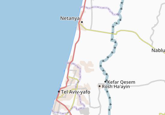 Kaart Plattegrond Bazra