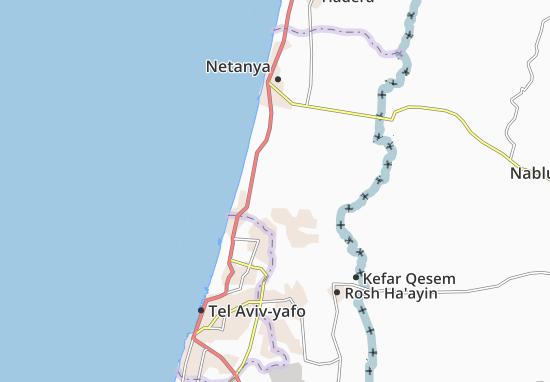 Bene Ziyyon Map
