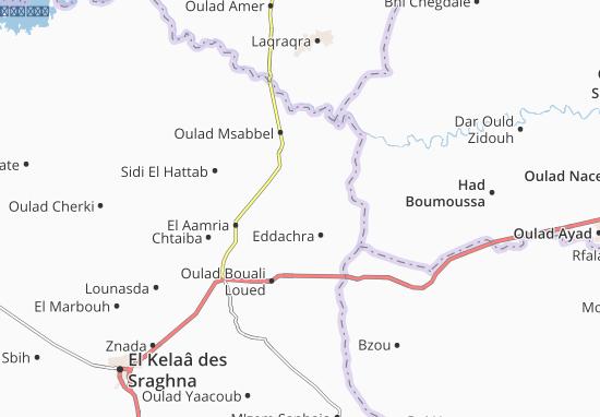Carte-Plan Oulad Massaoud
