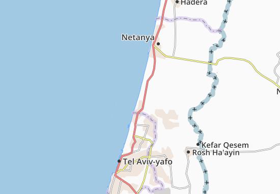 Kaart Plattegrond Ga'Ash