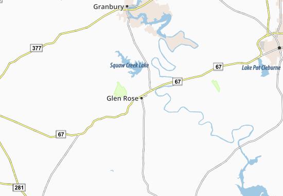 Glen Rose Map