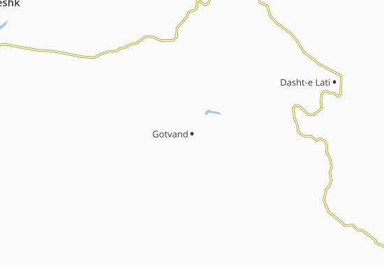 Mappe-Piantine Gotvand