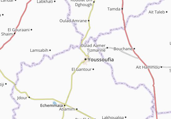 Mapa Plano Youssoufia