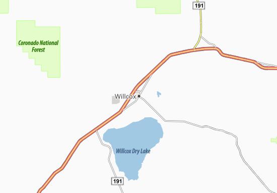 Willcox Map