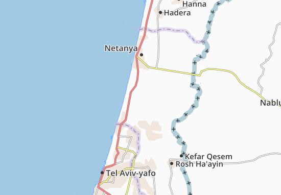 Mapas-Planos Tel Yizhaq
