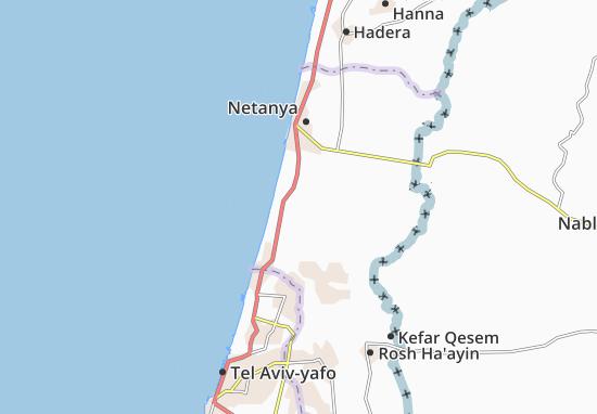 Bet Yehoshua' Map