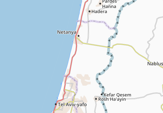 Even Yehuda Map