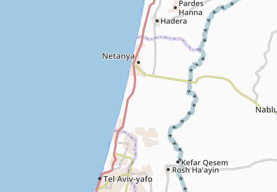 Kefar Netter Map