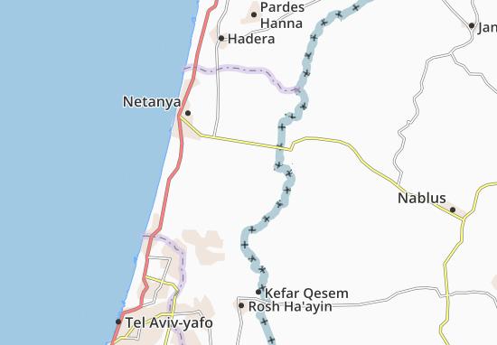 Mapas-Planos Kefar Ya'Bez