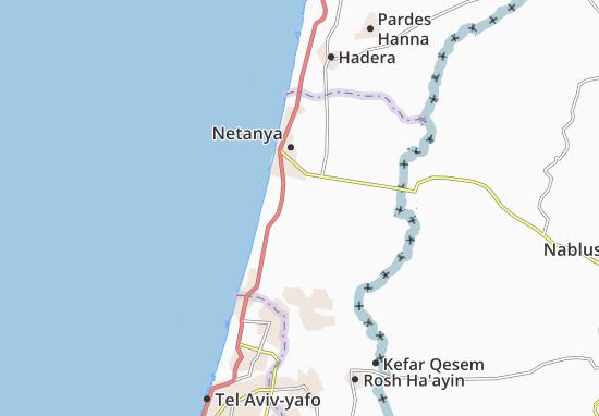 Hadassim Map
