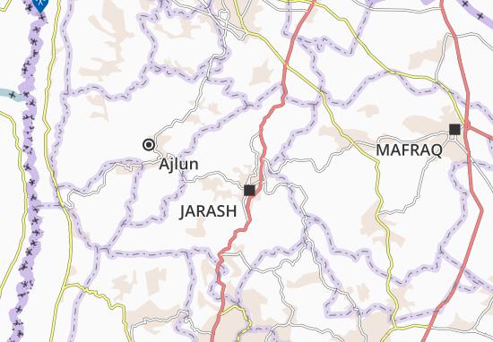 Jarash Qasabah Map