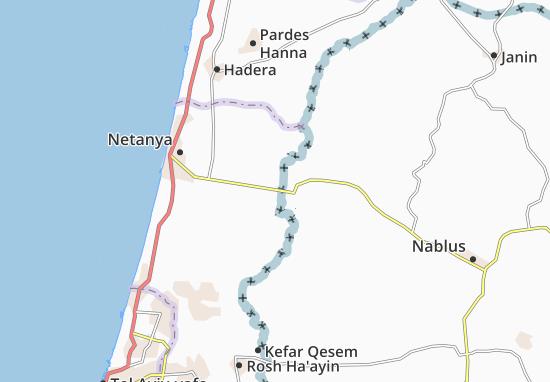 Nizzane 'Oz Map