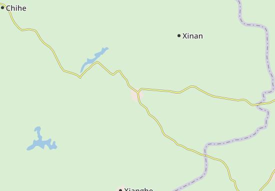 Chuzhou Map