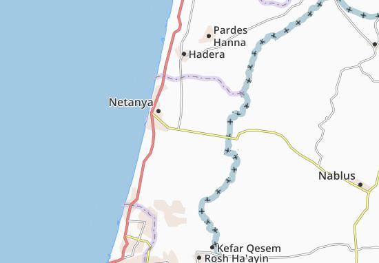 Mappe-Piantine Kefar Yona