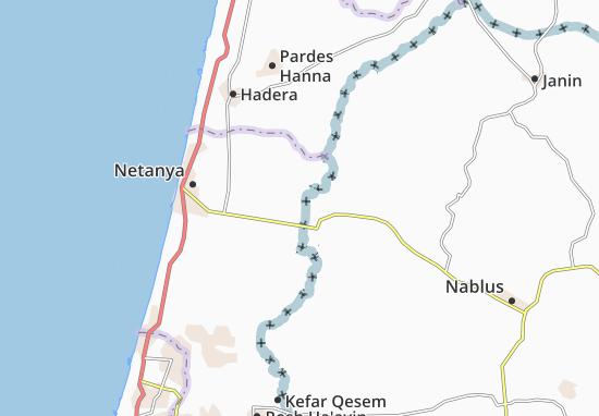 Yad Hanna Map