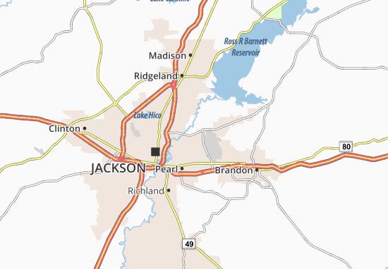 Flowood Map