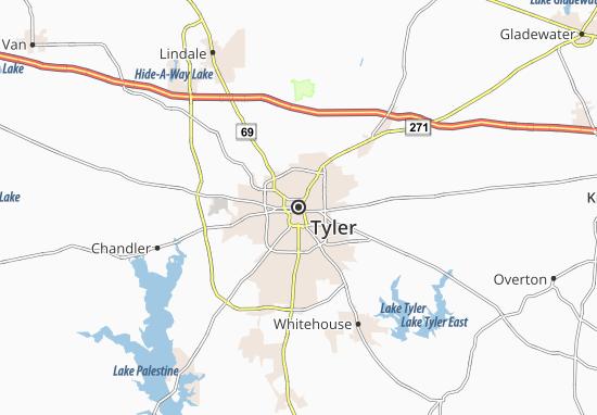 Mapa Plano Tyler