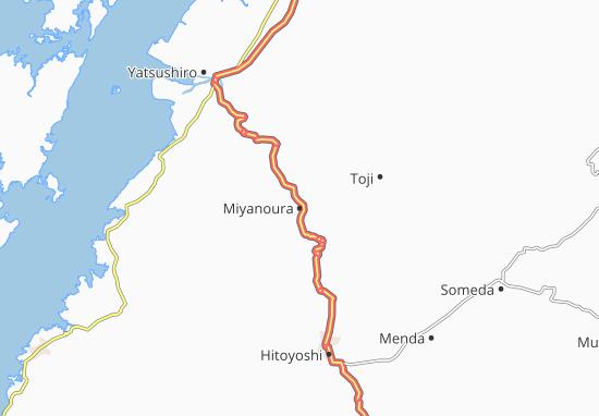 Miyanoura Map