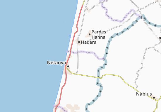 Mapas-Planos Giv'At Hayyim Me'Uha