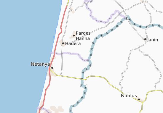 Lahavot Haviva Map