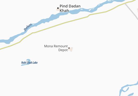 Mona Remount Depot Map