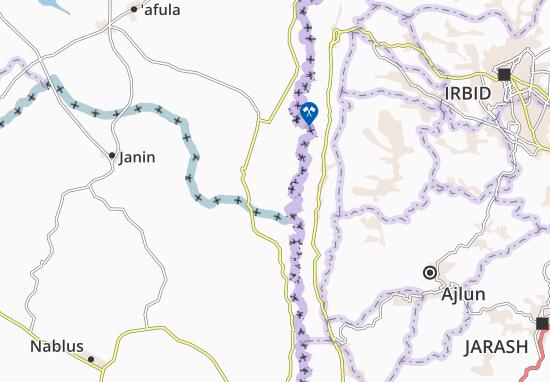 Mappe-Piantine Tirat Zevi