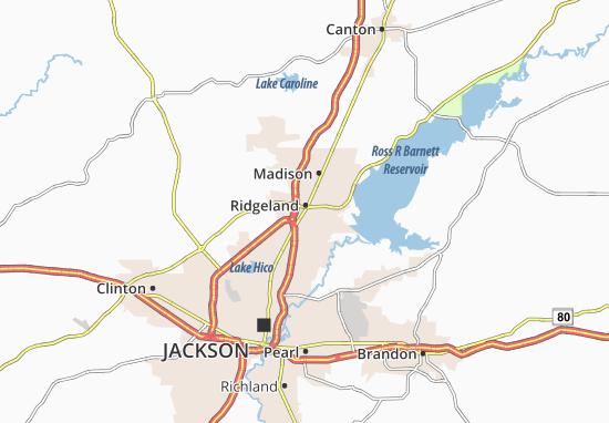 Ridgeland Map
