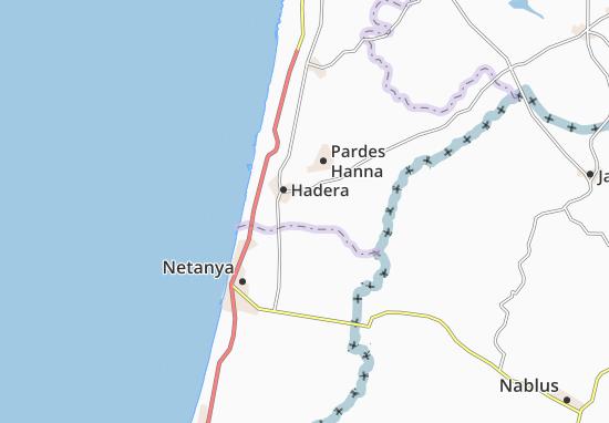 Shekhunat Bet Eli'Ezer Map