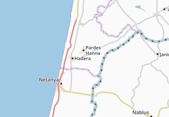 Talme El'Azar Map