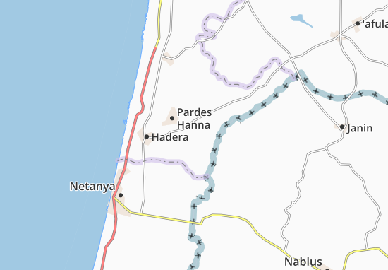 Sha'Ar Menashe Map