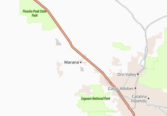 Mappe-Piantine Marana