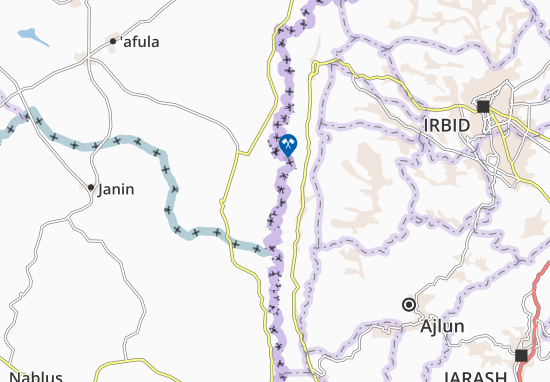 Mapas-Planos Kefar Ruppin