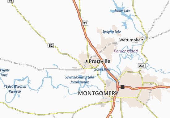 Prattville Map