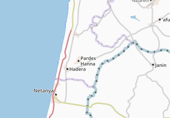 Kefar Pines Map