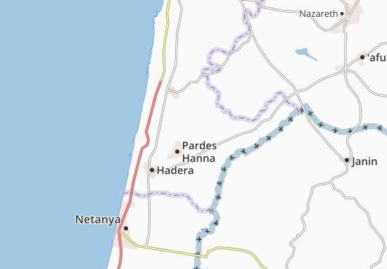 Mapas-Planos Kefar Glickson