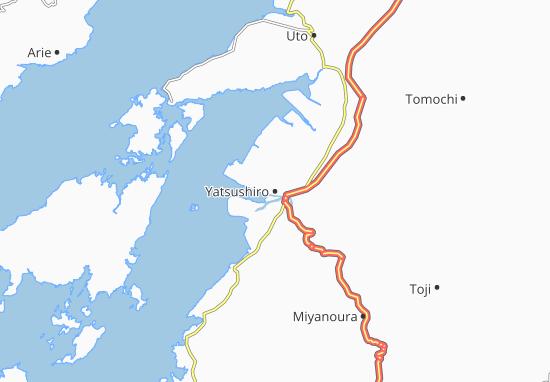 Yatsushiro Map