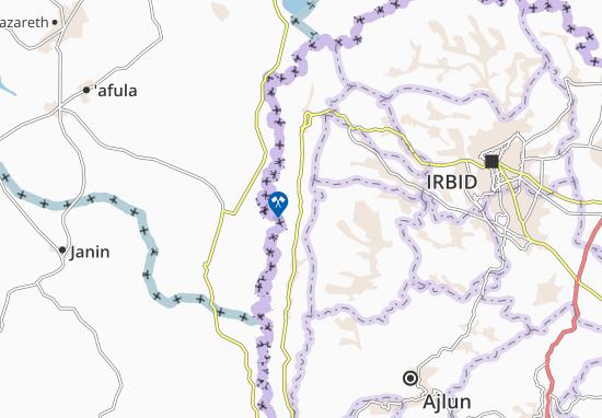 Mapas-Planos Aghwar Shamaliyah
